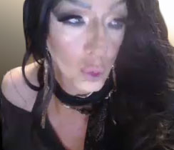 Pic of Beautiful Transgender Girl Modeling Kim K Smokey Eye