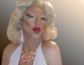 Pic of Beautiful Transgender Girl Modeling Marilyn Redux