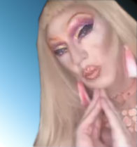 Pic of Beautiful Transgender Girl Modeling Bimbo Nails