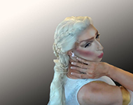 Pic of Beautiful Transgender Girl Modeling Inspired By Daenerys
