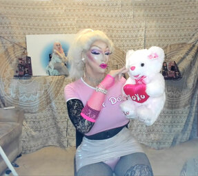 Pic of Beautiful Transgender Girl Modeling Fuck Doll